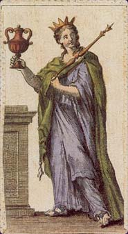 Ancient Minchiate Etruria Tarot