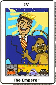 Electronic Republican Tarot