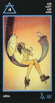 Manara The Erotic Tarot