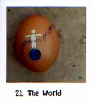 Physical Egg Tarot