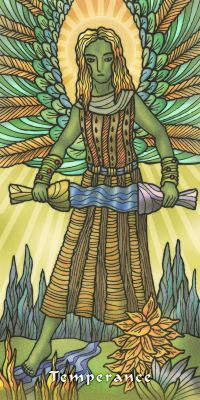 Tarot ng Daigdig sa Balintataw - Limited edition Artwork Tarots No 21