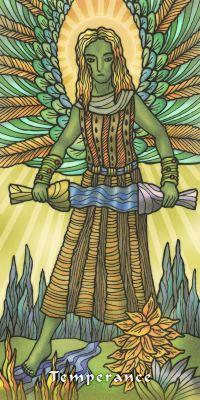 Tarot ng Daigdig sa Balintataw - Limited edition Artwork Tarots No 21